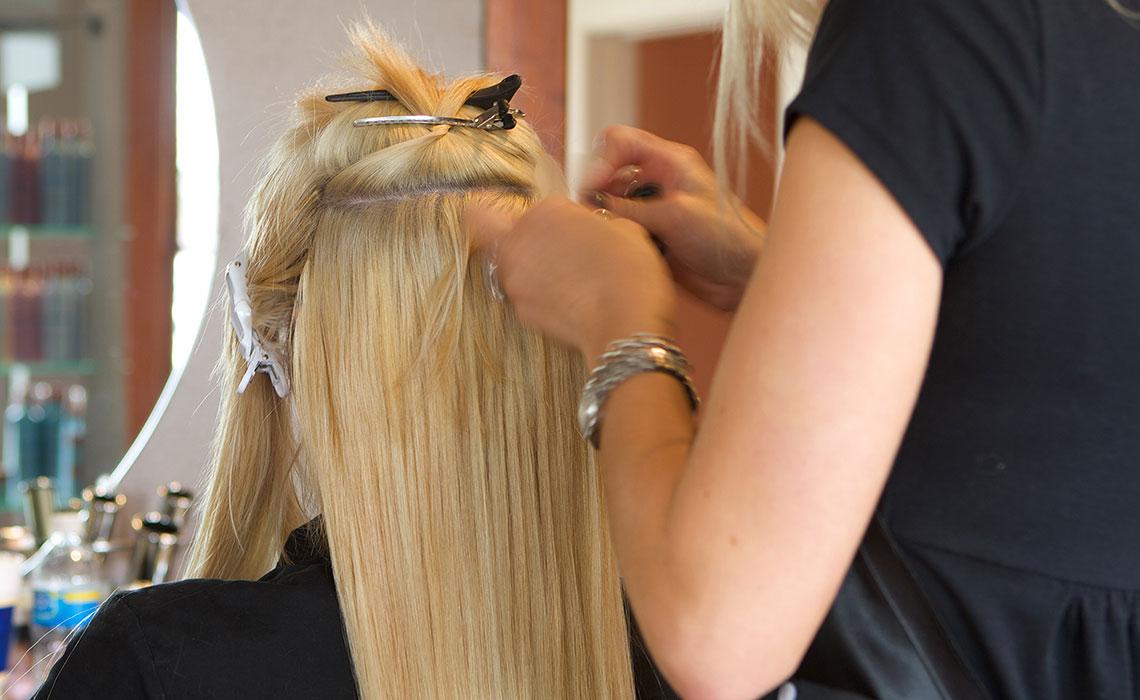 Haarverlangerung tressen zurich